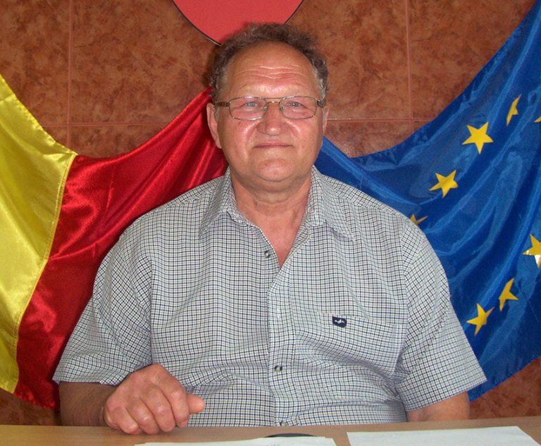 Faur Sandu - viceprimarul comunei Vărădia de Mureș