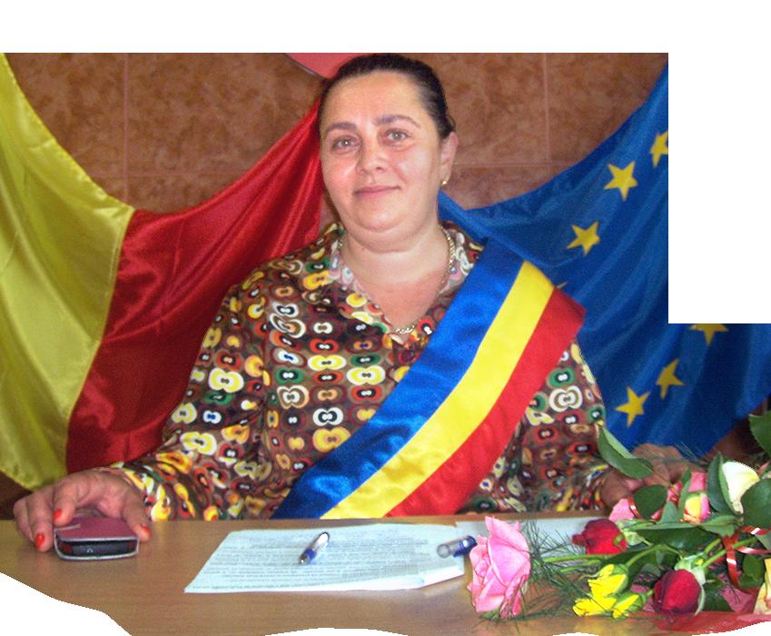 Miculiț Crina Melania - primarul comunei Vărădia de Mureș
