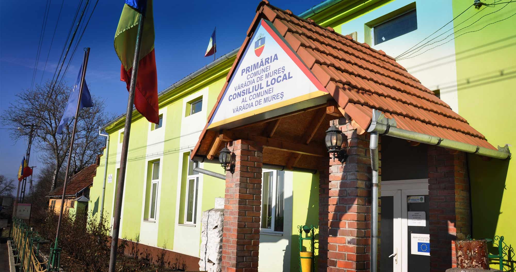 Primaria comunei Vărădia de Mureș